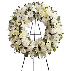 Serenity Funeral Wreath
